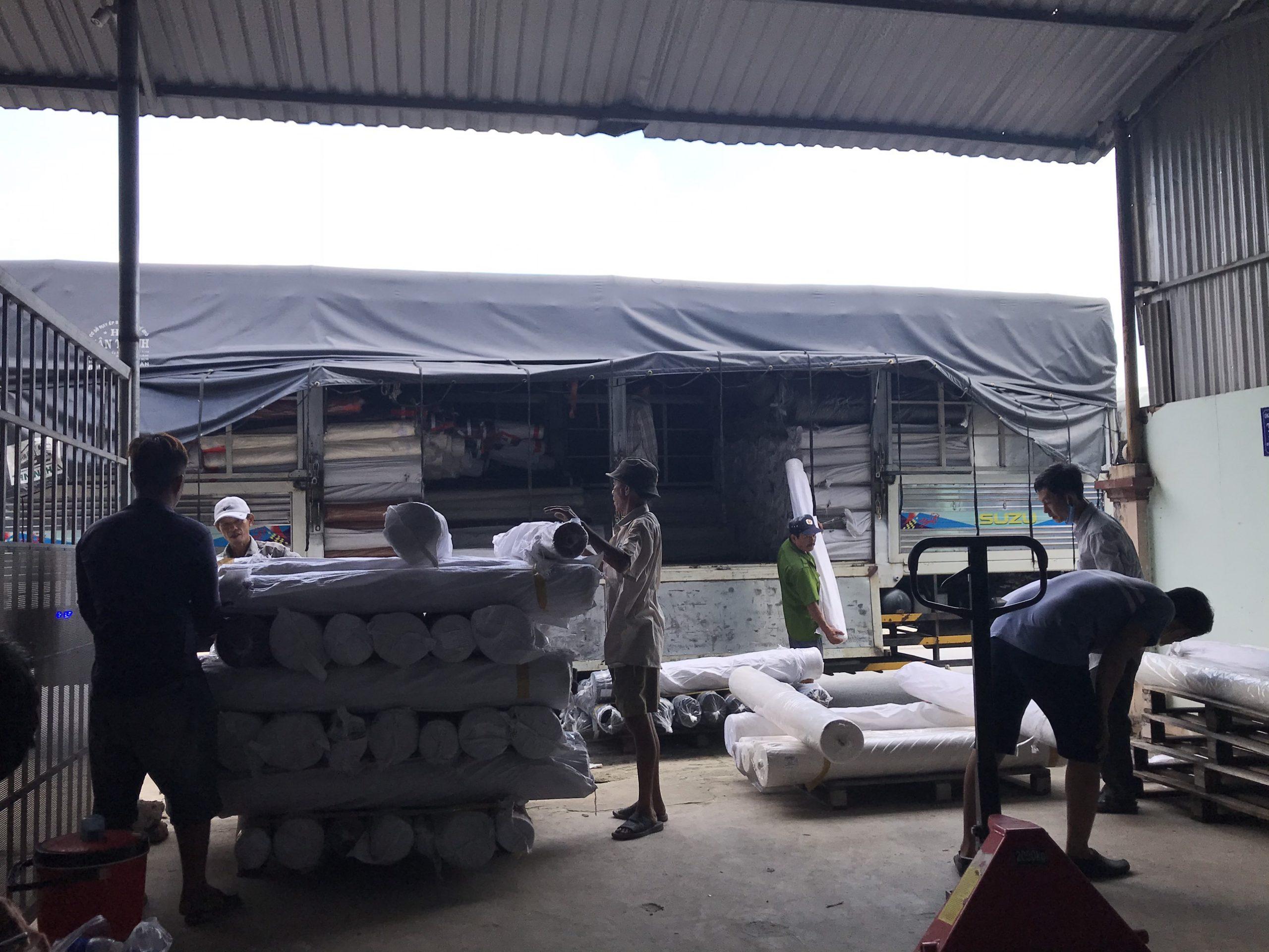 Dịch vụ bốc xếp hàng hóa Nhân Lực Thanh Niên